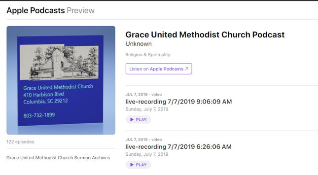 Grace Now in your Apple Podcasts!