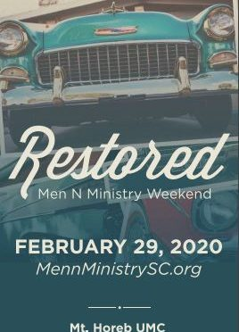 Restored Men N Ministry Weekend